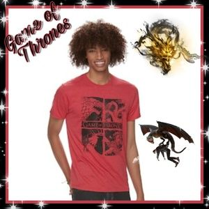 ☆ Game of Thrones faded Graphic Tee SZ M